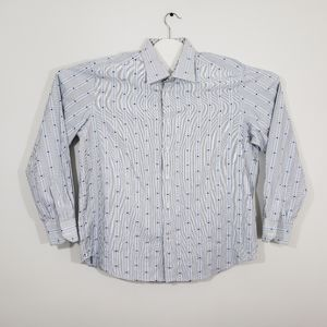 Robert Graham Full Button Shirt Men's Size 44